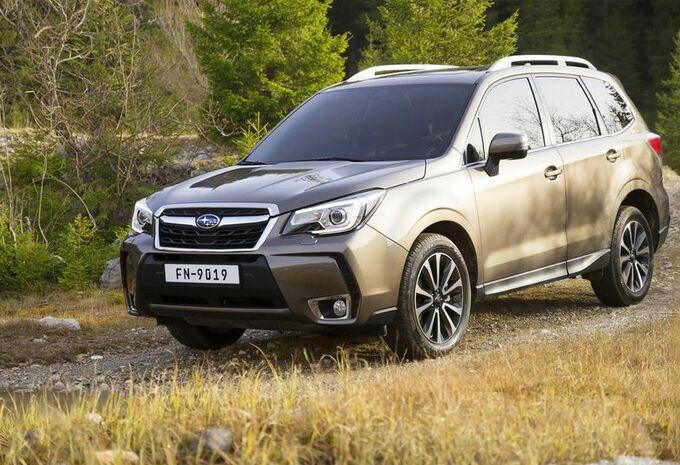 Subaru Forester : très léger facelift #1