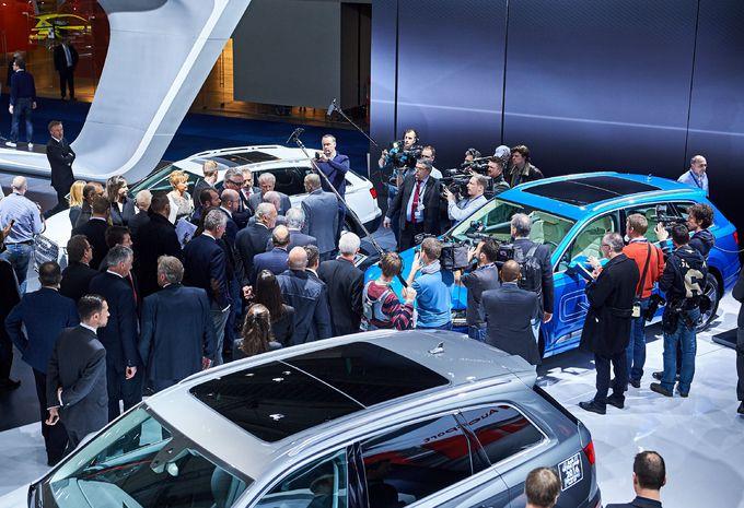 Autant de visiteurs en 2016 qu en 2014 au salon moniteur for Salon auto bruxelles