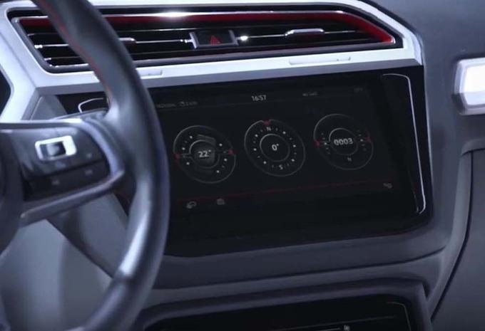 Volkswagen tiguan gte active concept het interieur autogids for Interieur tiguan