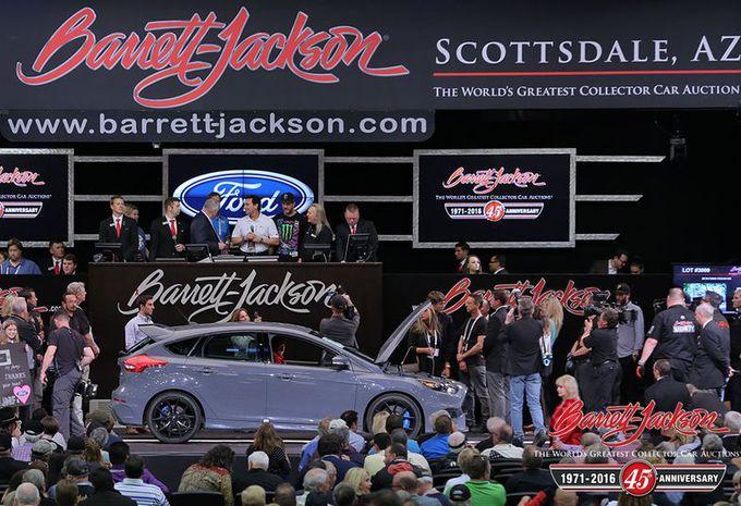 Une Ford Focus RS atteint des sommets aux enchères #1