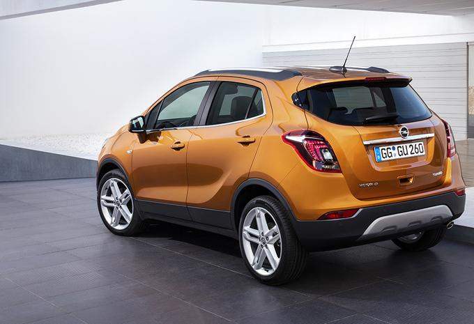 Opel mokka x een nieuwe naam autogids for Interieur opel mokka