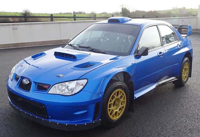 Hoeveel kost de Subaru WRX STI van Colin McRae? #1