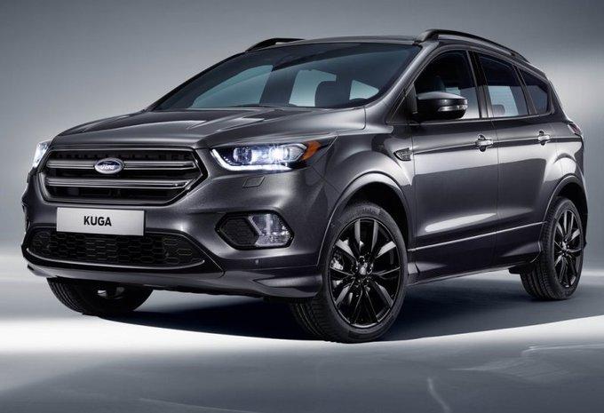 Ford Kuga : facelift au salon du GSM de Barcelone #1