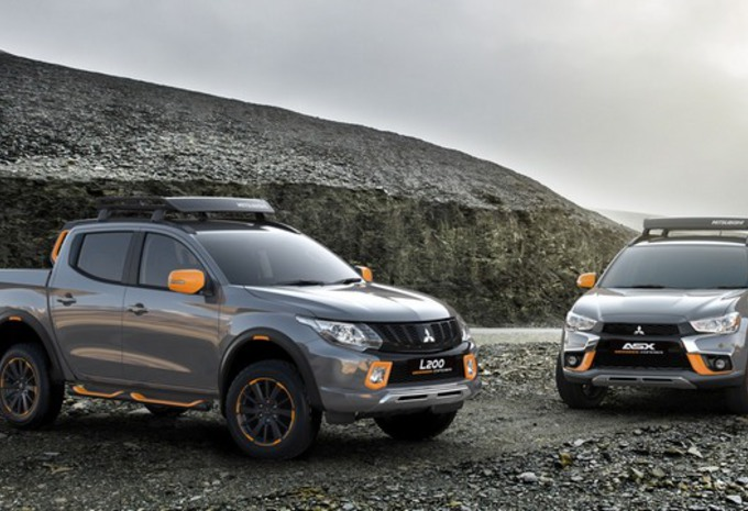 Mitsubishi L200 et ASX Geoseek Concepts : de l'orange #1