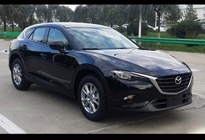 Arrivée de la Mazda CX-4 imminente #1