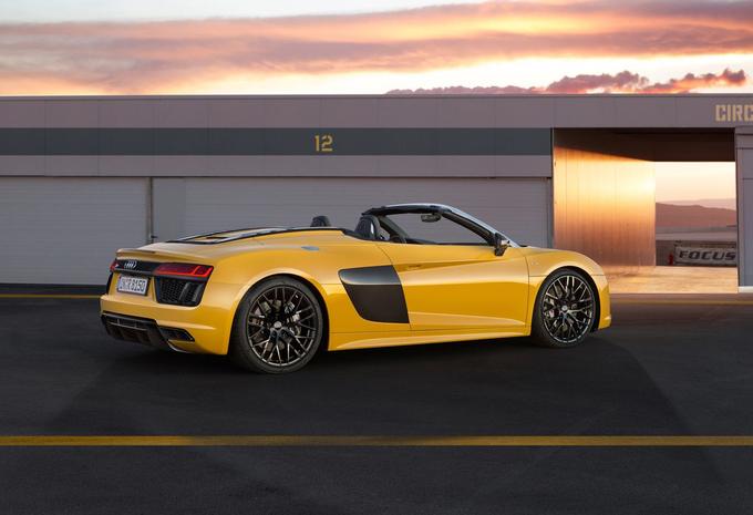 De Audi R8 is nog lekkerder als Spyder #1