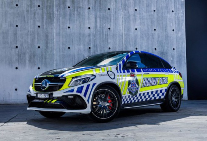 Une Lexus RC F et une Mercedes GLE 63 S Coupé pour la police australienne #1