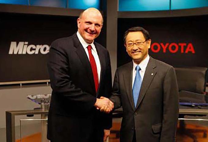 Toyota et Microsoft s'allient #1