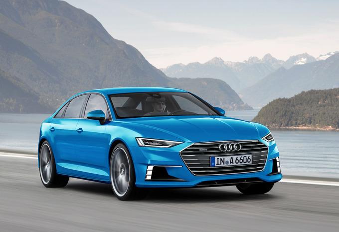 Scoop Audi A6 en A6 Avant 2017 - AutoGids
