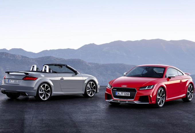 Audi TT RS behoudt heerlijke vijfpitter #1