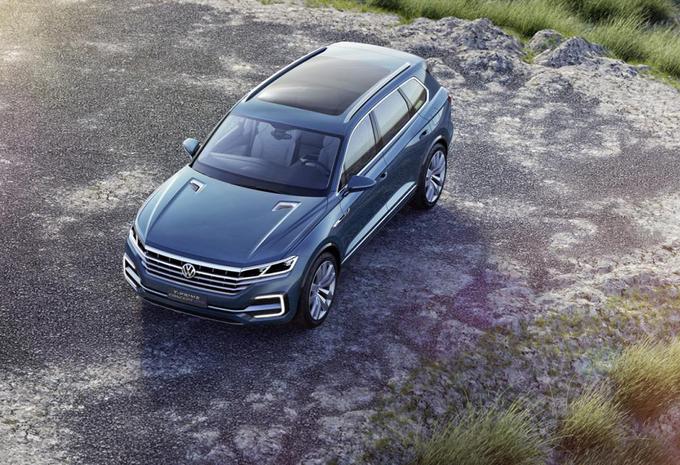 Volkswagen T-Prime GTE : le futur Touareg #1