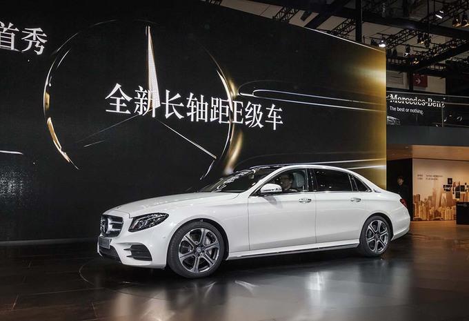 Mercedes Classe E : une version longue pour l'Empire du Milieu #1