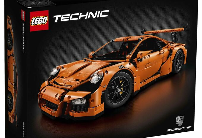 lego technic porsche 911 gt3 rs autogids. Black Bedroom Furniture Sets. Home Design Ideas
