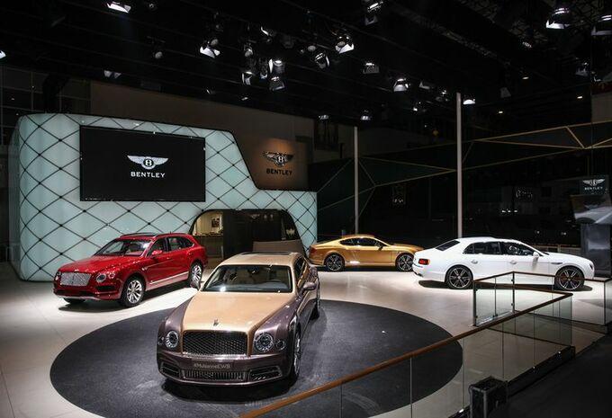 Bentley pavoise en Chine #1
