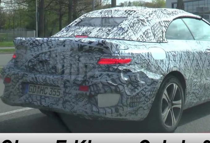 VIDÉO – La future Mercedes E cabrio est de sortie #1