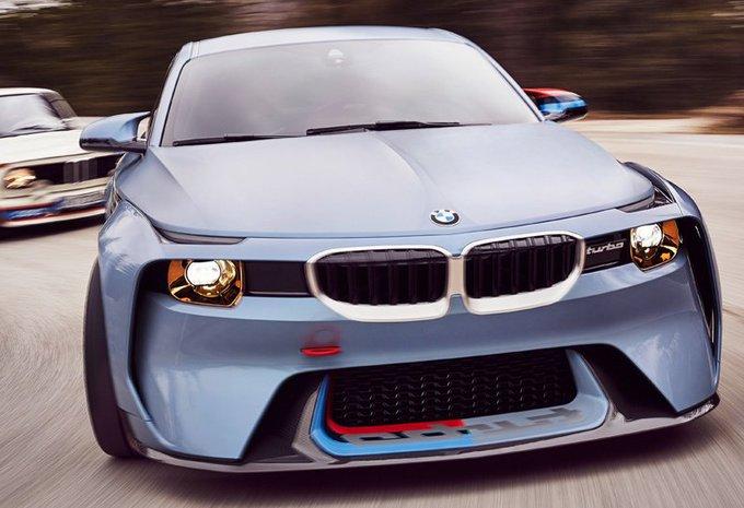 VIDÉO - BMW 2002 Hommage Concept : obrut à Villa d'Este #1