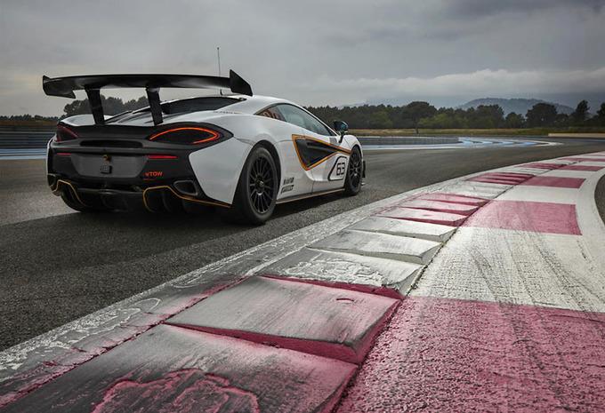McLaren 570S Sprint dicht het gat naar de GT4 #1