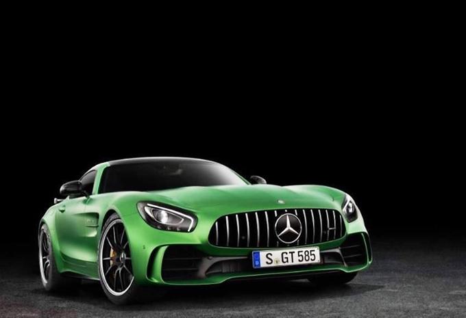 Mercedes-AMG GT R eert de Groene Hel #1