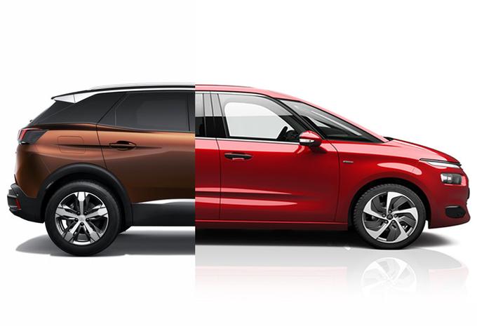 PSA zet Citroën op monovolumes en Peugeot op SUV's #1