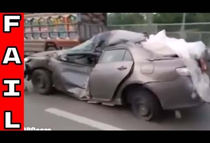 Toyota : même détruite, elle roule encore #1