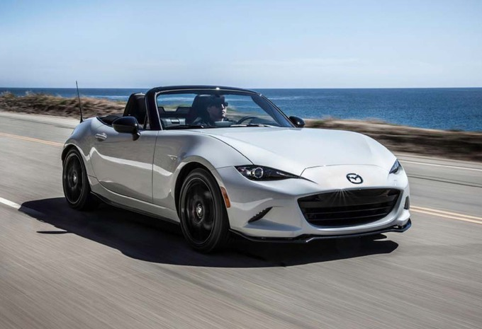 Mazda MX-5 : bientôt en carbone #1