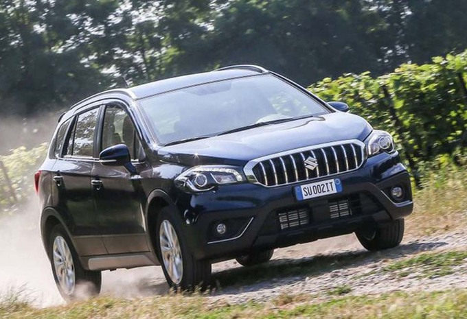 Suzuki SX-4 S-Cross : restylage officiel #1