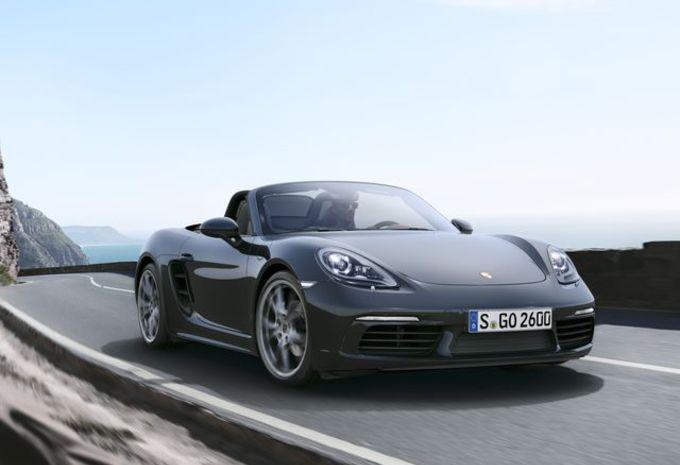 Porsche 718 Boxster en Cayman: zescilinder-boxer voor radicale versies #1