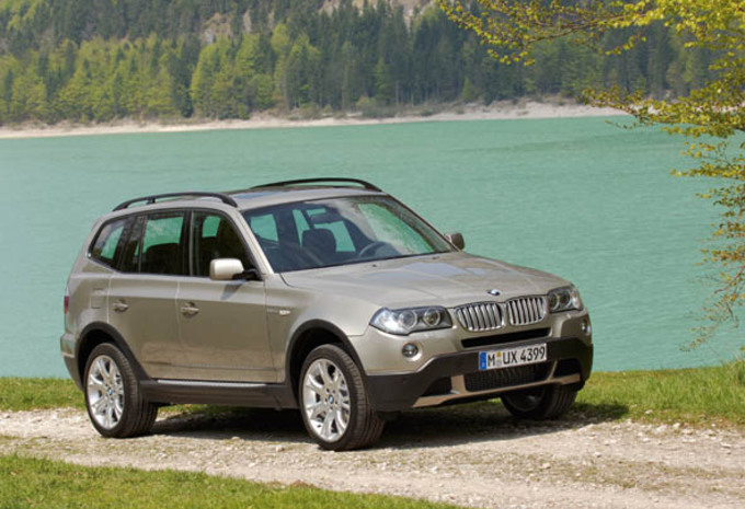 Photos Bmw X3 Facelift Moniteur Automobile