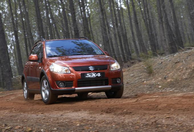 Suzuki SX4 nu ook met vierwielaandrijving #1