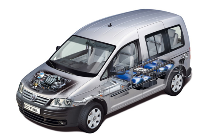 volkswagen caddy ecofuel moniteur automobile. Black Bedroom Furniture Sets. Home Design Ideas