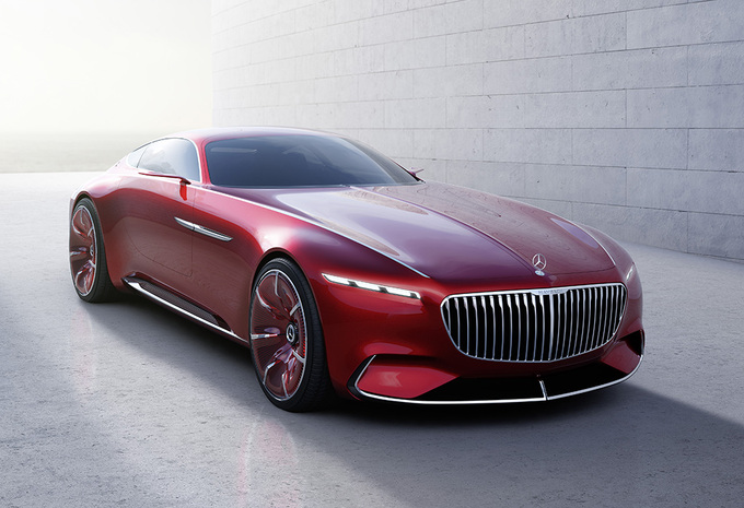 Spectaculaire Vision Mercedes-Maybach 6 geeft zich nu wel helemaal bloot #1