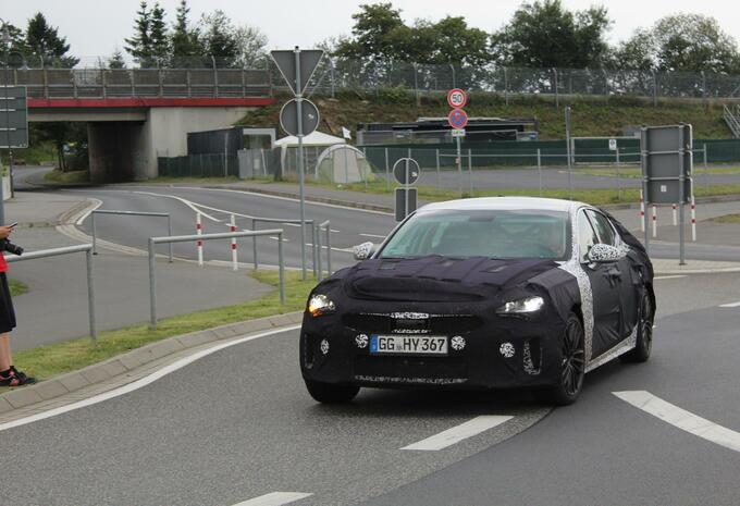 La GT Kia après un essai sur le Nürburgring #1