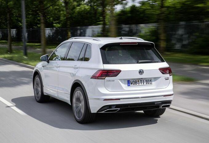 Volkswagen Tiguan : séance de musculation #1