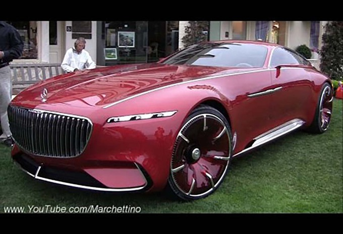 mercedes maybach vision 6 elle est t l command e moniteur automobile. Black Bedroom Furniture Sets. Home Design Ideas