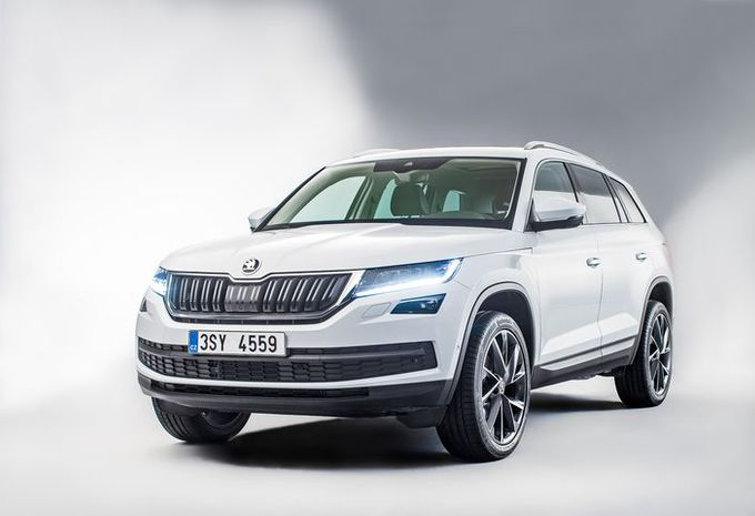skoda kodiaq dan nu alle details autogids. Black Bedroom Furniture Sets. Home Design Ideas