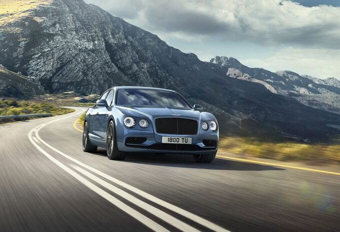 Bentley Flying Spur W12 S : le luxe à 325 km/h #1