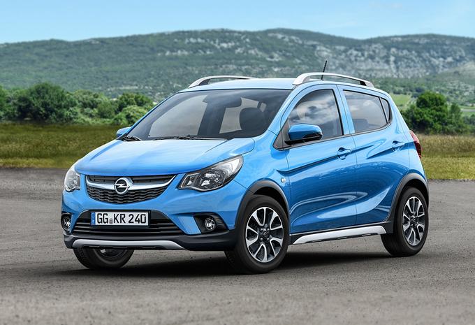 Ook Opel Karl voortaan on the Rocks #1