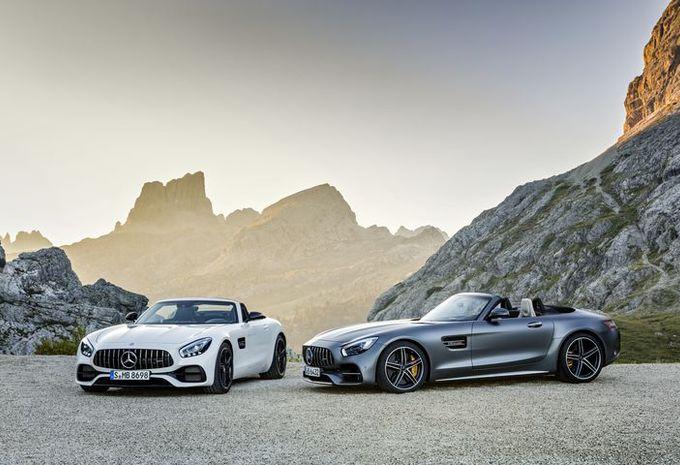 Mercedes-AMG GT Roadster et GTC Roadster : officielles ! #1