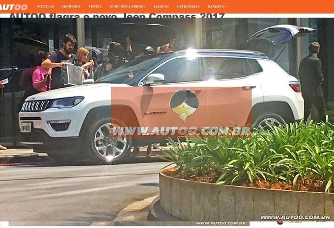 Le futur Jeep Compass est déjà là ! #1