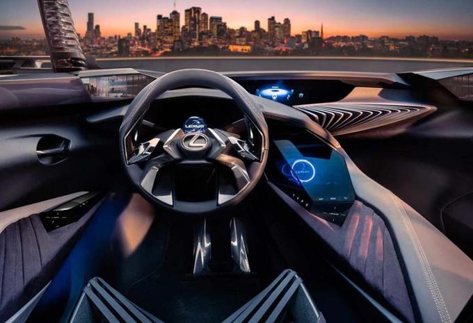 Lexus UX : Voici son intérieur #1