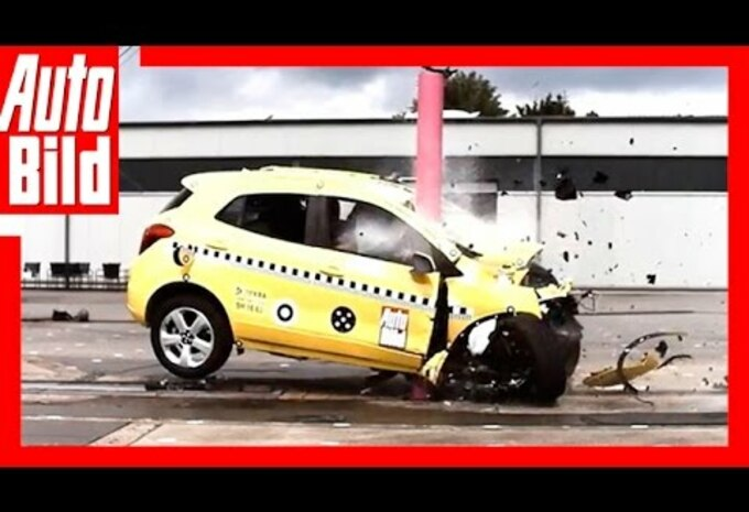 Crashtest met 80 km/h: dramatisch resultaat #1