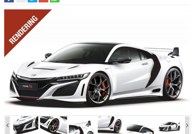 avec aileron votre nsx r moniteur automobile. Black Bedroom Furniture Sets. Home Design Ideas