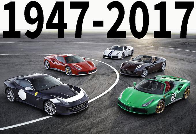 70 jaar Ferrari in 70 speciale modellen #1