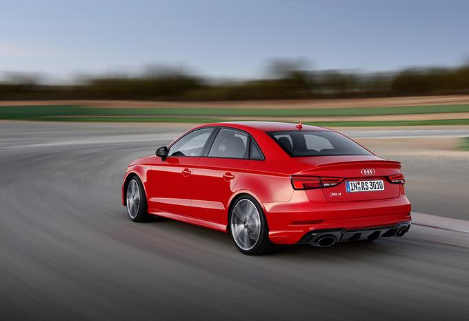 Audi brengt A3 Sedan ook als 400 pk sterke RS 3 #1