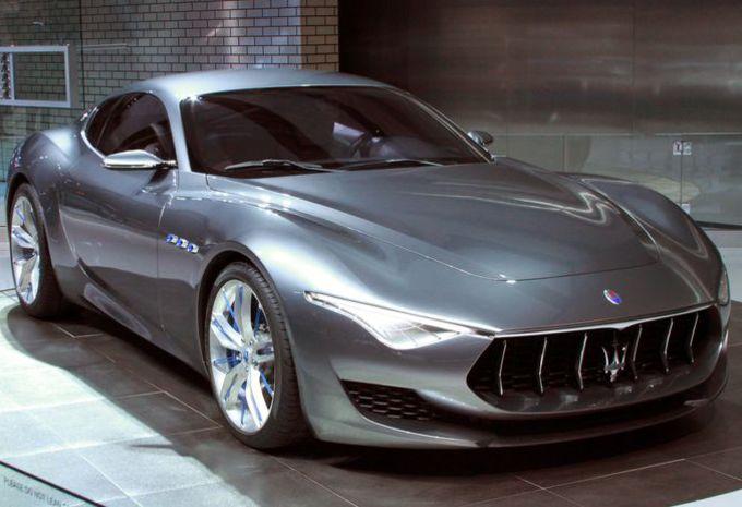 Exterior: Une Maserati électrique En 2020