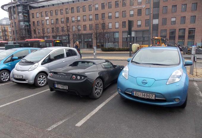 Fotos Noorwegen 1 Nieuwe Wagen Op 2 Is Elektrisch Autogids