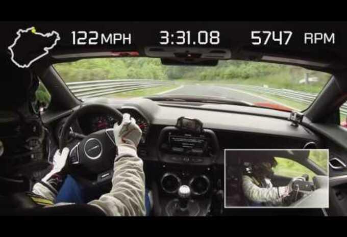 La Chevrolet Camaro ZL1 survole le Ring ! #1