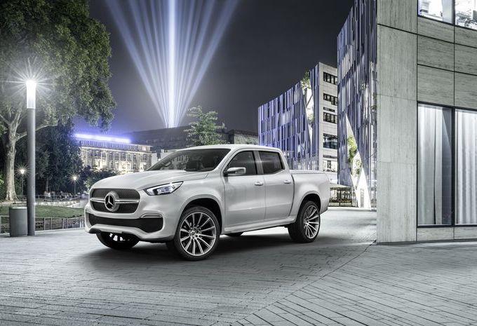 Mercedes Classe X Concept : pick-ups étoilés #1