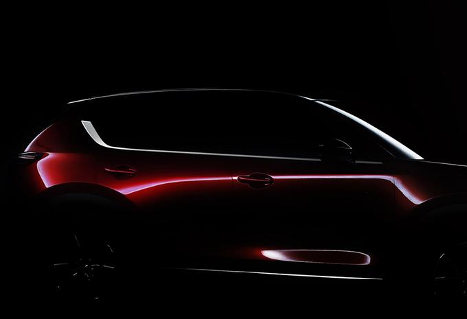 Teaser Mazda CX-5 #1