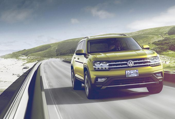 Volkswagen Atlas : grand SUV américain #1